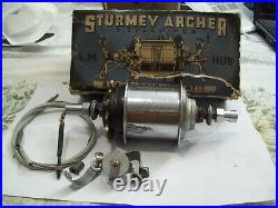 Sturmey Archer AM 3 Speed Medium Ratio Hub Gear NOS Boxed and c/w Most Fittings