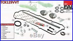TCK129VVT FAI TIMING CHAIN KIT fit BMW 1 (F20) 116 i (N13 B16 A) 12/10