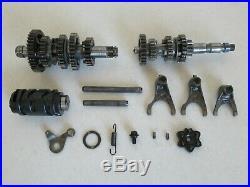 Transmission Tranny Gearbox Shift Forks Drum Gear Box fits 2014 Yamaha TTR125